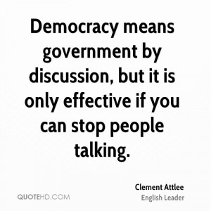 Clement Attlee Quotes