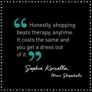 Shopping vs. Therapy?? No brainer!