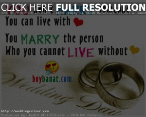 Picture Gallery of Wedding Quotes And Sayings