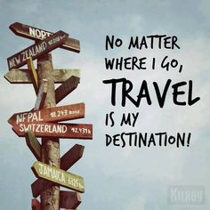 Travel Sayings / Quotes