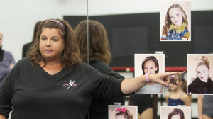 Abby Lee Miller unveils the week's pyramid on Dance Moms