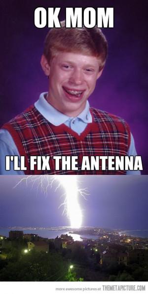 Funny photos funny thunderstorm big lightning bolt