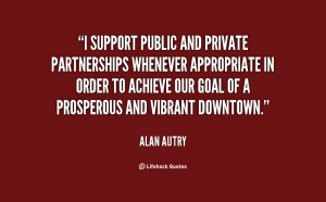 support public and private partnerships whenever appropriate in ...