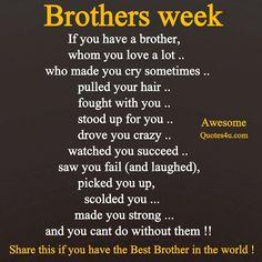 My Amazing Brother