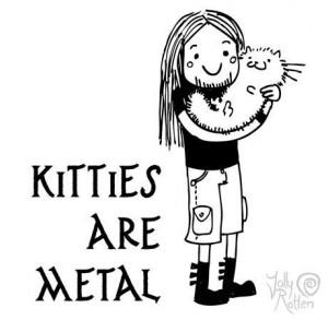 likes zombies metal my cat metalheads gore death serial killers