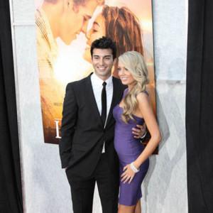 Justin Baldoni and Emily Wedding