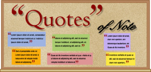 Use quotes at the start of the school year to inspire your students to