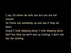 Drake Hate Sleeping Alone (Lyrics) [Take Care]