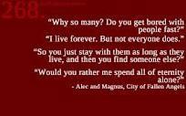 Alec and Magnus!