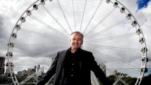WHEEL DEAL Andrew Denton in Brisbane Picture Tim Marsden Source