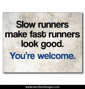 Funny Quotes About Running