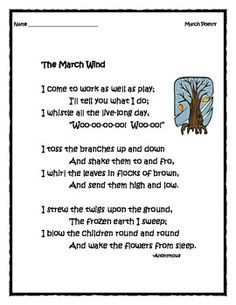 March Poetry: