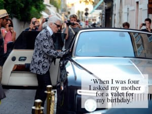 Karl Lagerfeld's 25 Most Infamous Quotes