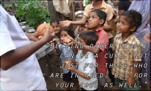 Helping People In Need Quotes. Quotes About Being Random. View ...