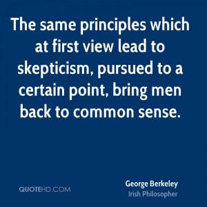 George Berkeley Men Quotes