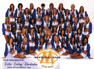 Dallas Cowboys Cheerleaders Image