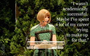 anna wintour career advice photo