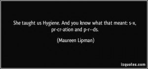 Quotes About Personal Hygiene