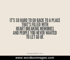 Letting go of love quotes