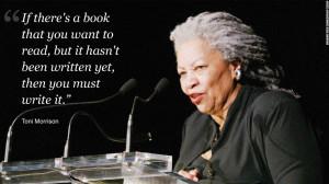 ... Toni Morrison,
