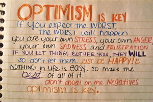 life, optimism, quote, text, words