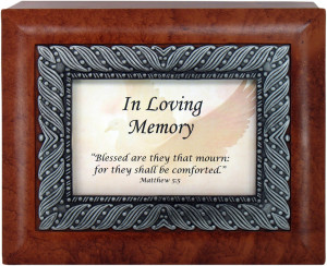 ... / Gifts by Occasion / In Loving Memory 5x7 Keepsake Box #LJBX=SYM2