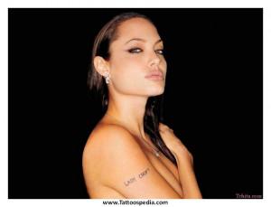 Celebrity Tattoo Quotes Female