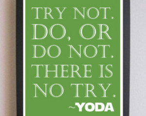 ... Poster, Yoda Quote, Nursery wall quotes, Boy Prints, Kid's art