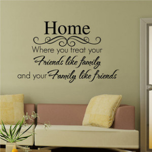 quotes quotes quotes decor sticker wall decal sticker art family