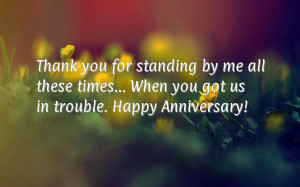 Thank you for standing by me all these times…
