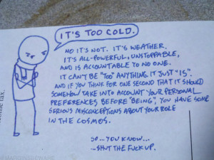 Weather Funny Quote picture