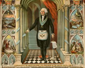 ... Washington was a devout Mason. In that speech, Mr. Dean claimed that