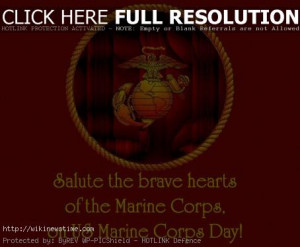 United States Marine Corps Day Quotes, Quotations & Sayings :