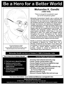 also hero handout focus on hunger hero handout focus on human rights