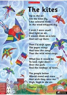 kite poem more classroom stuff classroom literacy kite poems schools ...