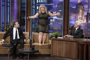 Wilson seemed shy during her appearance on 'The Tonight Show' this ...