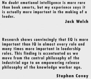 Emotional Intelligence Intelligence Quotes