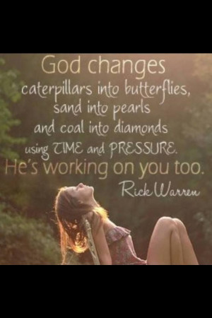 Quote from Rick Warren...