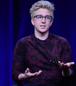 Tyler Oakley YouTube personality Tyler Oakley discusses PBS's ...