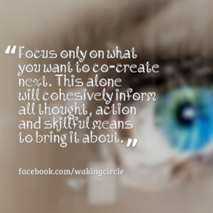 Quotes About: focus