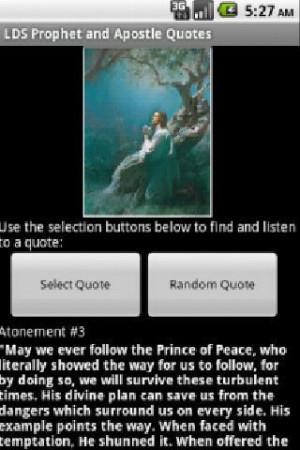 LDS Audio Quotes Lite - screenshot