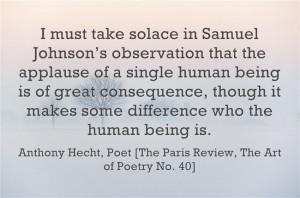 January 16 - Anthony Hecht's Birthday