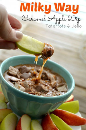 ... , Dips Recipes, Dip Recipes, Milky Way, Caramel Apples, Apples Dips