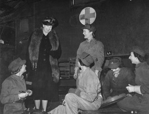 Eleanor Roosevelt: American Women in the War