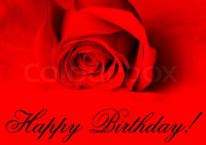 Happy Birthday!, Stock-Foto