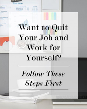 Want to Quit Your #Job and Work for Yourself? | Levo League | Career ...