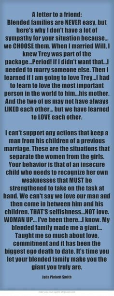 Jada Pinkett Smith on women, love, and step parenting. YOU GO, JADA ...