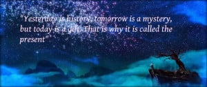 Quotes About The Past Present And Future From Kung Fu Panda ~ The ...