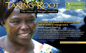 change and a Nobel Peace Prize? Three decades ago, Wangari Maathai ...