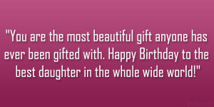 You are the most beautiful gift anyone has ever been gifted with ...
